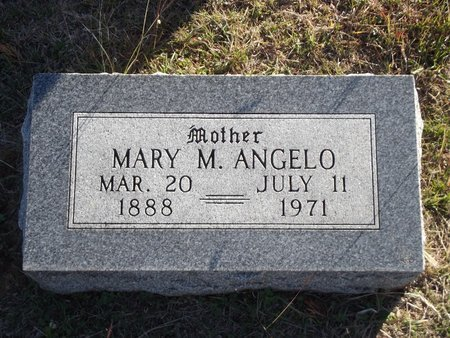ANGELO, MARY M - Alfalfa County, Oklahoma | MARY M ANGELO - Oklahoma Gravestone Photos