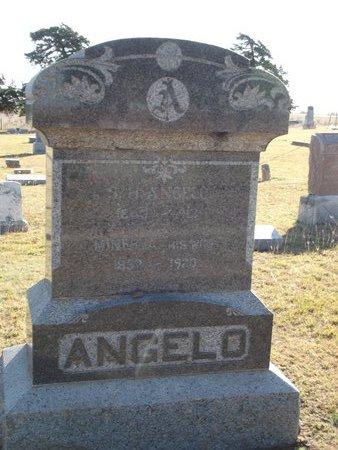 ANGELO, S H - Alfalfa County, Oklahoma | S H ANGELO - Oklahoma Gravestone Photos