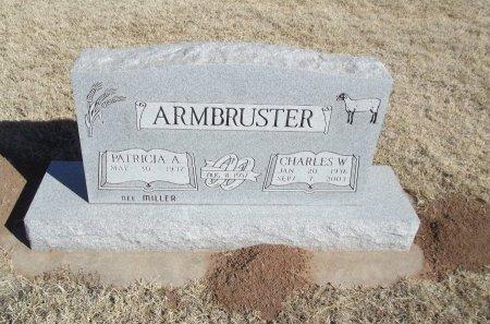 ARMBRUSTER, CHARLES W - Alfalfa County, Oklahoma | CHARLES W ARMBRUSTER - Oklahoma Gravestone Photos