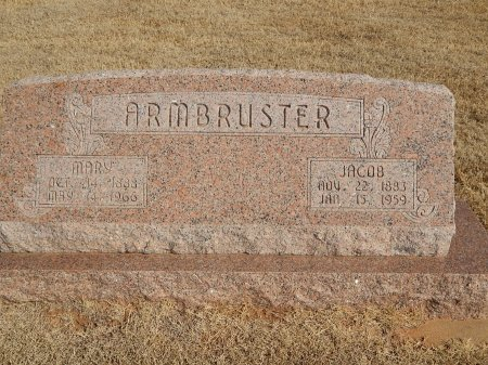 ARMBRUSTER, JACOB - Alfalfa County, Oklahoma | JACOB ARMBRUSTER - Oklahoma Gravestone Photos