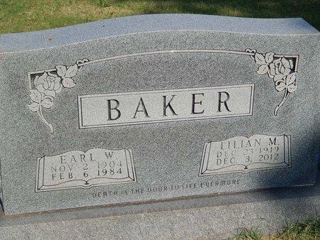 BAKER, LILIAN M - Alfalfa County, Oklahoma   LILIAN M BAKER - Oklahoma Gravestone Photos