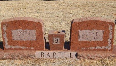 BARTEL, HENRY P - Alfalfa County, Oklahoma | HENRY P BARTEL - Oklahoma Gravestone Photos