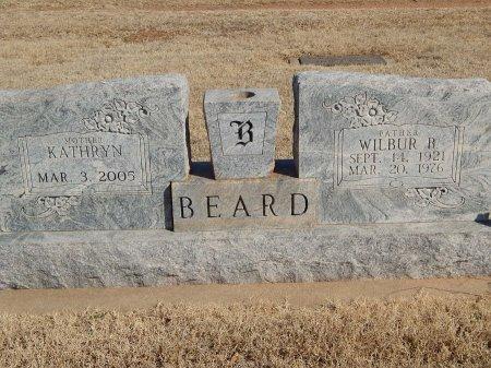 BEARD, WILBUR B - Alfalfa County, Oklahoma | WILBUR B BEARD - Oklahoma Gravestone Photos
