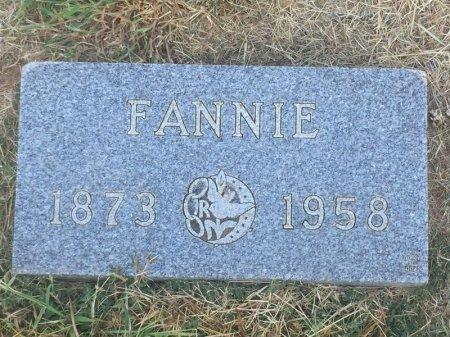 BUCKLES, FANNIE - Alfalfa County, Oklahoma | FANNIE BUCKLES - Oklahoma Gravestone Photos