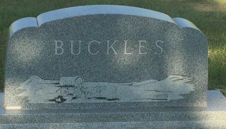 BUCKLES, FAMILY MARKER - Alfalfa County, Oklahoma | FAMILY MARKER BUCKLES - Oklahoma Gravestone Photos