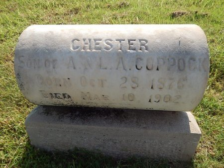 COPPOCK, CHESTER - Alfalfa County, Oklahoma | CHESTER COPPOCK - Oklahoma Gravestone Photos