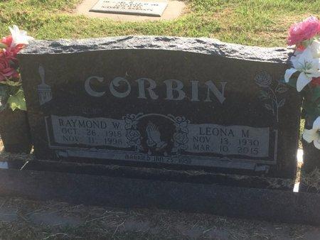 CORBIN, RAYMOND W - Alfalfa County, Oklahoma | RAYMOND W CORBIN - Oklahoma Gravestone Photos