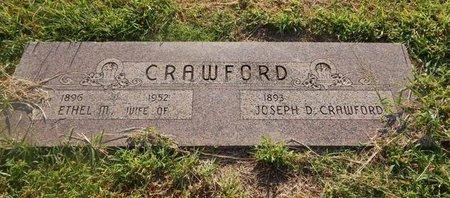 CRAWFORD, JOSEPH D - Alfalfa County, Oklahoma | JOSEPH D CRAWFORD - Oklahoma Gravestone Photos