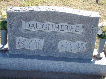 DAUGHHETEE, CARMALITA - Alfalfa County, Oklahoma | CARMALITA DAUGHHETEE - Oklahoma Gravestone Photos