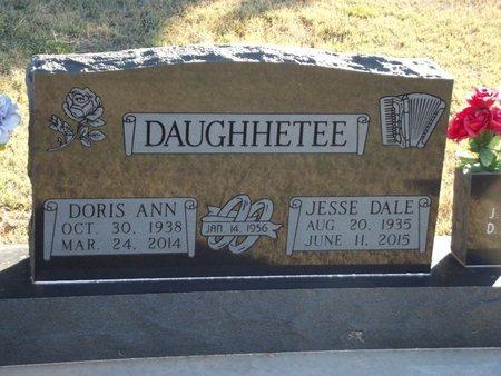 DAUGHHETEE, DORIS ANN - Alfalfa County, Oklahoma | DORIS ANN DAUGHHETEE - Oklahoma Gravestone Photos