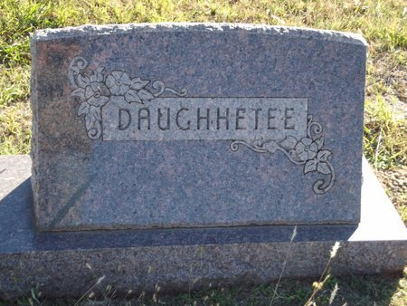 DAUGHHETEE, FAMILY MARKER - Alfalfa County, Oklahoma | FAMILY MARKER DAUGHHETEE - Oklahoma Gravestone Photos
