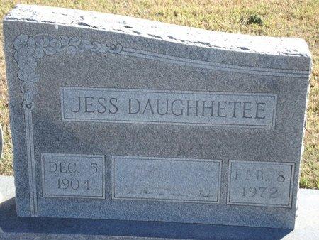 DAUGHHETEE, JESS - Alfalfa County, Oklahoma | JESS DAUGHHETEE - Oklahoma Gravestone Photos