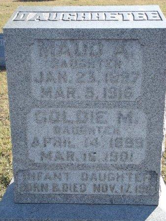 DAUGHHETEE, GOLDIE M - Alfalfa County, Oklahoma | GOLDIE M DAUGHHETEE - Oklahoma Gravestone Photos