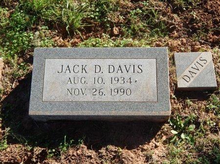 DAVIS, JACK D - Alfalfa County, Oklahoma | JACK D DAVIS - Oklahoma Gravestone Photos