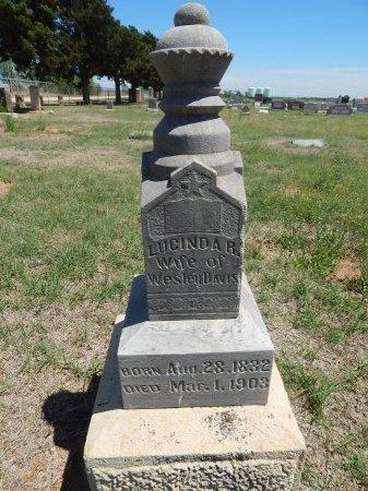 DAVIS, LUCINDA R - Alfalfa County, Oklahoma | LUCINDA R DAVIS - Oklahoma Gravestone Photos