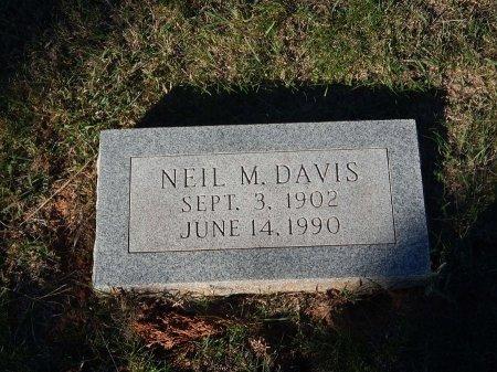 DAVIS, NEIL M - Alfalfa County, Oklahoma | NEIL M DAVIS - Oklahoma Gravestone Photos