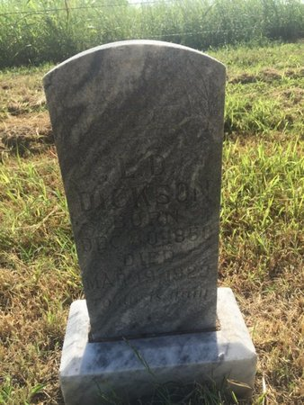DICKSON, L D - Alfalfa County, Oklahoma   L D DICKSON - Oklahoma Gravestone Photos