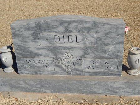 DIEL, GEORGE W - Alfalfa County, Oklahoma | GEORGE W DIEL - Oklahoma Gravestone Photos
