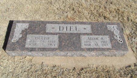 RUSH DIEL, HETTIE - Alfalfa County, Oklahoma | HETTIE RUSH DIEL - Oklahoma Gravestone Photos