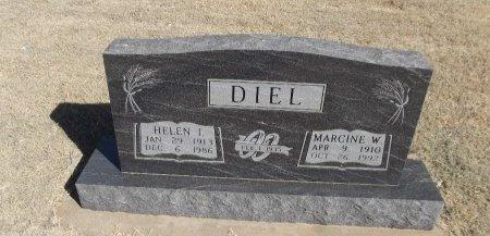DIEL, HELEN I - Alfalfa County, Oklahoma | HELEN I DIEL - Oklahoma Gravestone Photos