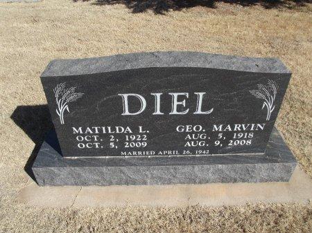 DIEL, GEORGE MARVIN - Alfalfa County, Oklahoma | GEORGE MARVIN DIEL - Oklahoma Gravestone Photos