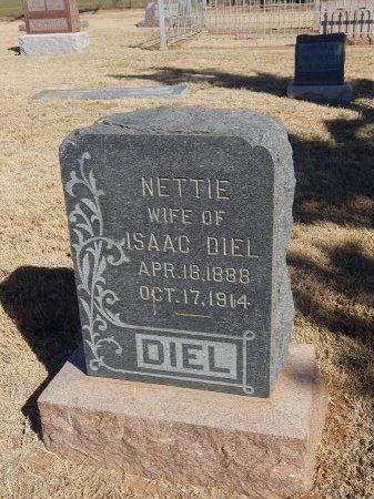DIEL, NETTIE - Alfalfa County, Oklahoma | NETTIE DIEL - Oklahoma Gravestone Photos