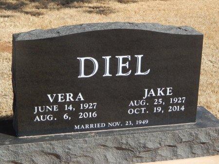 DIEL, VERA - Alfalfa County, Oklahoma   VERA DIEL - Oklahoma Gravestone Photos