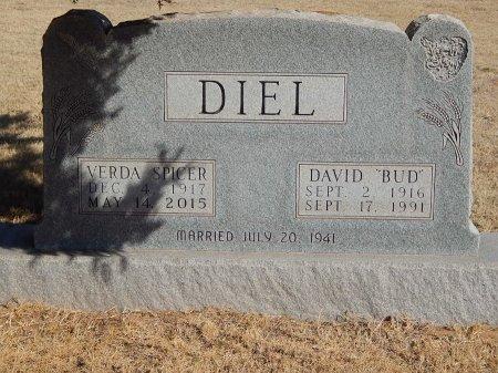 SPICER DIEL, VERDA - Alfalfa County, Oklahoma | VERDA SPICER DIEL - Oklahoma Gravestone Photos