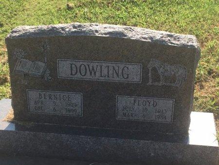 DOWLING, BERNICE - Alfalfa County, Oklahoma   BERNICE DOWLING - Oklahoma Gravestone Photos