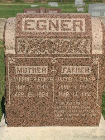 EGNER, KATHRINE P - Alfalfa County, Oklahoma | KATHRINE P EGNER - Oklahoma Gravestone Photos