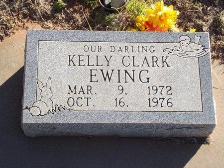 EWING, KELLY CLARK - Alfalfa County, Oklahoma | KELLY CLARK EWING - Oklahoma Gravestone Photos