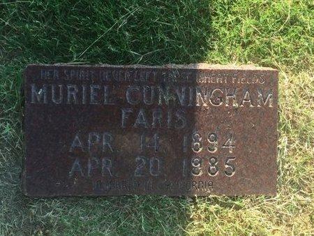 FARIS, MURIEL - Alfalfa County, Oklahoma | MURIEL FARIS - Oklahoma Gravestone Photos