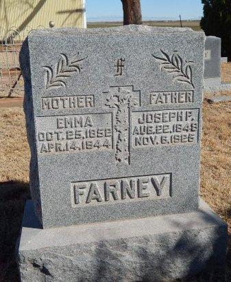 FARNEY, EMMA - Alfalfa County, Oklahoma | EMMA FARNEY - Oklahoma Gravestone Photos