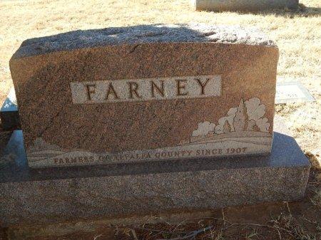 FARNEY, FAMILY MARKER - Alfalfa County, Oklahoma   FAMILY MARKER FARNEY - Oklahoma Gravestone Photos