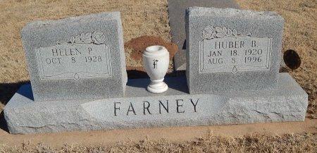 FARNEY, HUBER B - Alfalfa County, Oklahoma   HUBER B FARNEY - Oklahoma Gravestone Photos