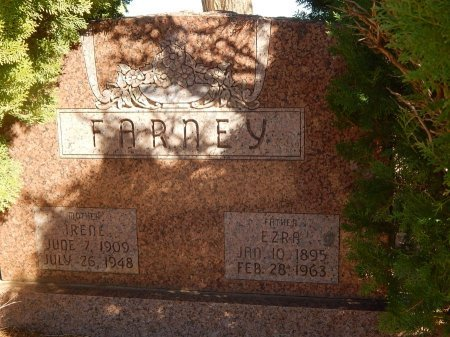 FARNEY, EZRA - Alfalfa County, Oklahoma | EZRA FARNEY - Oklahoma Gravestone Photos