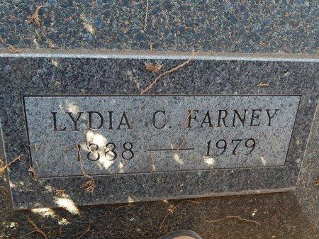 FARNEY, LYDIA C - Alfalfa County, Oklahoma | LYDIA C FARNEY - Oklahoma Gravestone Photos
