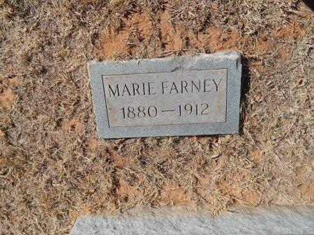 FARNEY, MARIE - Alfalfa County, Oklahoma | MARIE FARNEY - Oklahoma Gravestone Photos