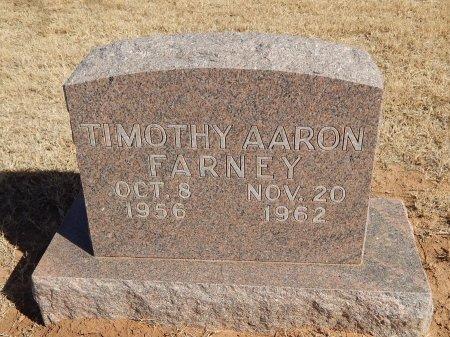 FARNEY, TIMOTHY AARON - Alfalfa County, Oklahoma | TIMOTHY AARON FARNEY - Oklahoma Gravestone Photos