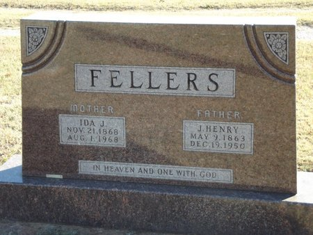 FELLERS, IDA J - Alfalfa County, Oklahoma | IDA J FELLERS - Oklahoma Gravestone Photos