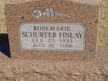 SCHURTER FINLAY, ROSEMARIE - Alfalfa County, Oklahoma   ROSEMARIE SCHURTER FINLAY - Oklahoma Gravestone Photos