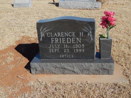 FRIEDEN, CLARENCE H - Alfalfa County, Oklahoma | CLARENCE H FRIEDEN - Oklahoma Gravestone Photos
