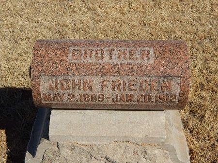 FRIEDEN, JOHN - Alfalfa County, Oklahoma | JOHN FRIEDEN - Oklahoma Gravestone Photos