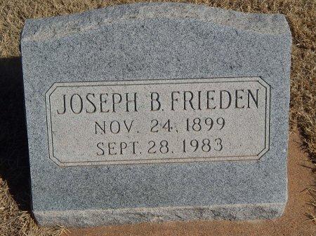 FRIEDEN, JOSEPH B - Alfalfa County, Oklahoma | JOSEPH B FRIEDEN - Oklahoma Gravestone Photos