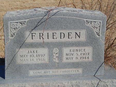 FRIEDEN, EUNICE - Alfalfa County, Oklahoma | EUNICE FRIEDEN - Oklahoma Gravestone Photos