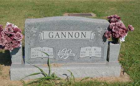 GANNON, RAY WARREN - Alfalfa County, Oklahoma | RAY WARREN GANNON - Oklahoma Gravestone Photos