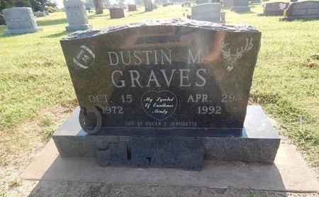 GRAVES, DUSTIN M - Alfalfa County, Oklahoma | DUSTIN M GRAVES - Oklahoma Gravestone Photos