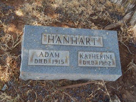 HANHART, KATHERINE - Alfalfa County, Oklahoma   KATHERINE HANHART - Oklahoma Gravestone Photos