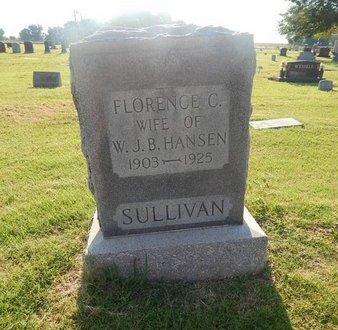 SULLIVAN HANSEN, FLORENCE C - Alfalfa County, Oklahoma | FLORENCE C SULLIVAN HANSEN - Oklahoma Gravestone Photos