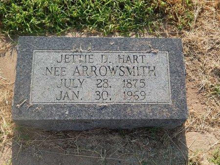 ARROWSMITH HART, JETTIE D - Alfalfa County, Oklahoma | JETTIE D ARROWSMITH HART - Oklahoma Gravestone Photos